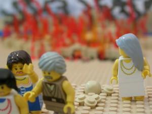 ロトの妻、ソドムとゴモラを振り返る(The Brick Testamentより)