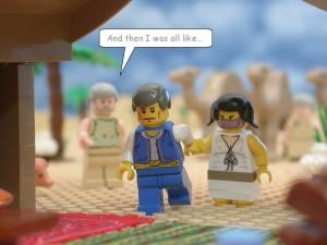 イサクとリベカの結婚(The Brick Testamentより)