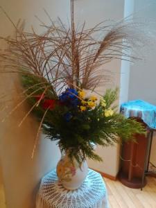 Mさんが献げてくださったお花です
