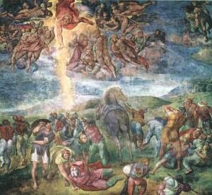 ミケランジェロ「聖パウロの回心」