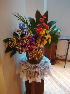 Mさんが献げてくださったお花