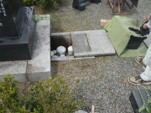 教会墓地での埋葬