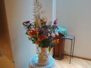 Mさんがささげてくださったお花